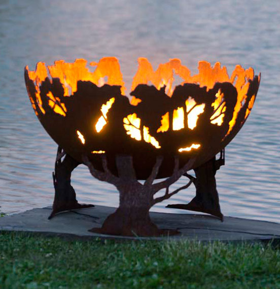 Forest Fire Firebowl Fire Pit The Fire Pit Gallery The