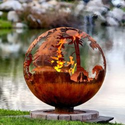 Up North - Design Your Own - Sphere Fire Pit