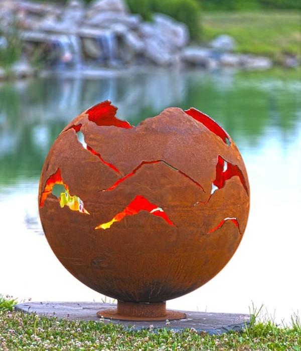 Alpenglow Fire Pit Sphere