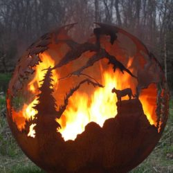 Fire Pit Spheres