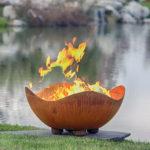 Ocean Swells Firebowl Fire Pit 1
