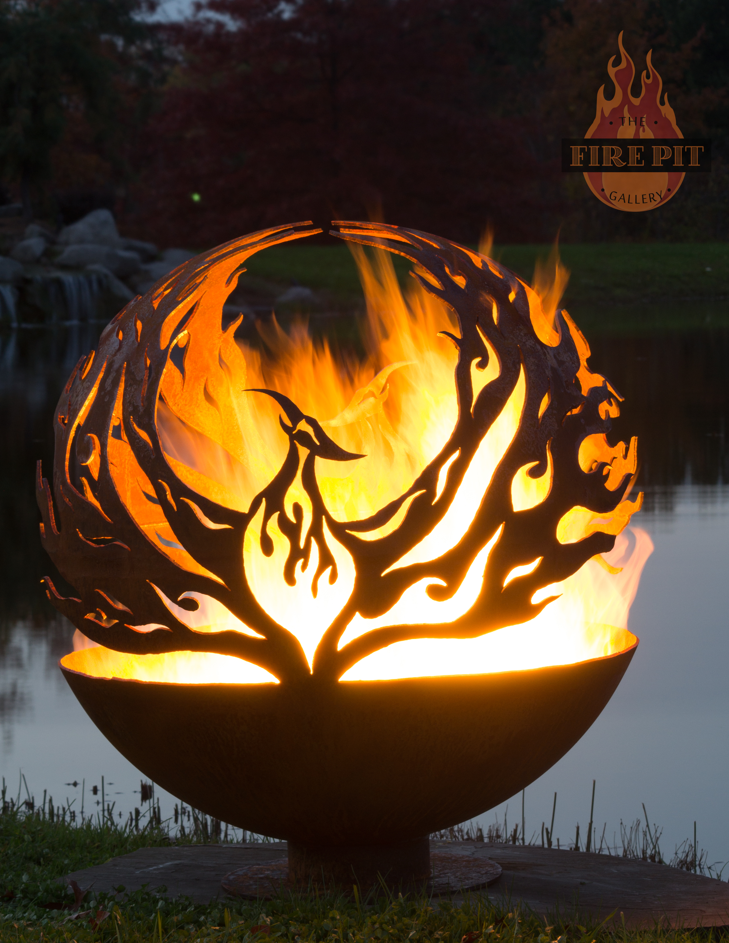 Phoenix Rising Fire Pit Sphere The Fire Pit Gallery