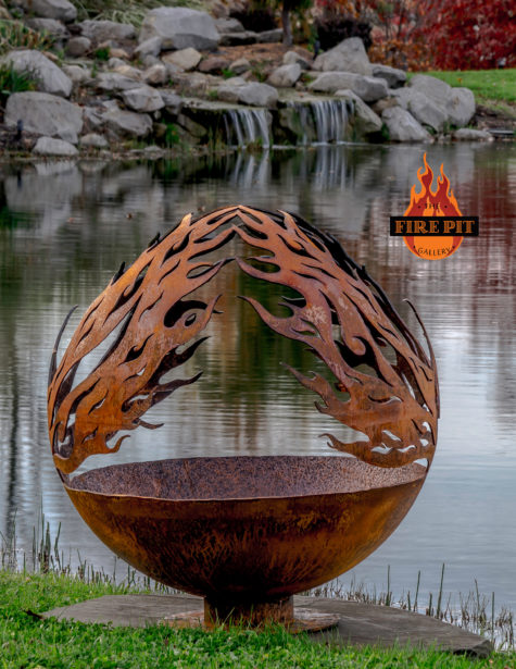 Phoenix Riing Fire Pit Sphere 07 - The Fire Pit Gallery
