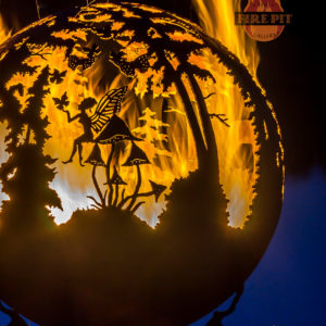 Enchanted Woods Fairy Fire Pit Sphere 01 - The Fire Pit Gallery