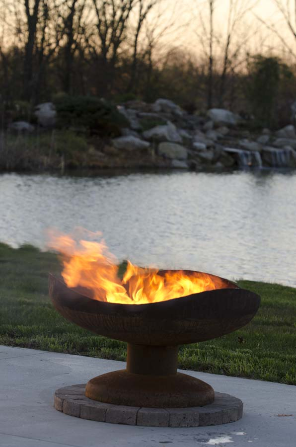 Sand Dune Firebowl The Fire Pit Gallery