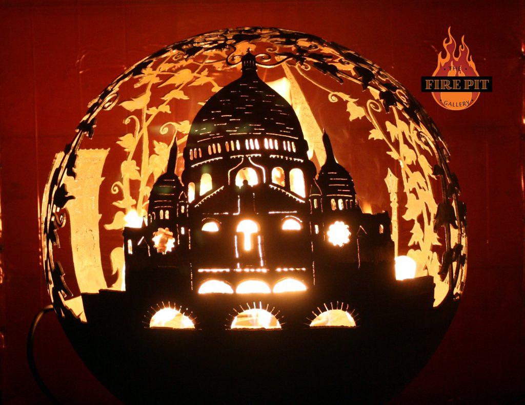 Paris Church Firepit